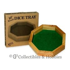 NEW 10 Inch WOOD DICE TRAY RPG Game Koplow Games Wooden
