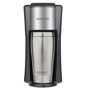 European One Cup Coffee Maker : Black And Decker 220 Volt 1-Cup Coffeemaker + 2 Mugs (NOT FOR USA) Europe Asia eBay