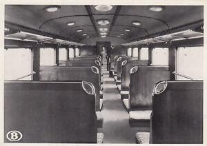 AK-inopportun-electrique-train-Innere-Vue-un-Wagens-Belgische-Eisenba-g3726