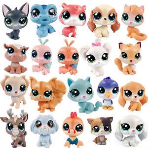 Littlest-Pet-Shop-LPS-Dog-Puppy-Cat-Kitten-Pony-Cow-Deer-Owl-Bird-Tiger-Figure