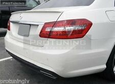 Mercedes Benz E-Class W212 Spoiler AMG Trunk REAR Heck lip Wing MB Boot cover