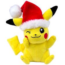 TOMY T19335 Pokemon Santa Pikachu mit Weihnachtsmütze Plüsch Weihnachten