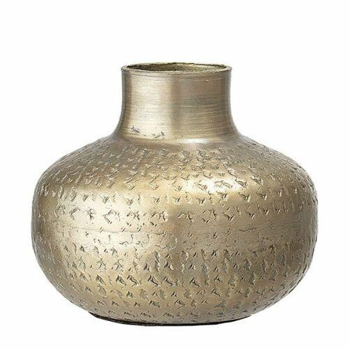 Bloomingville Vase Metall Messing 13x11 cm