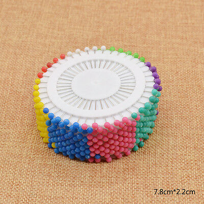 800 Pcs Colored Pins Needles for DIY Quilling Origami Tools Sewing Paper Crafts