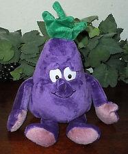 "Goodness Gang Purple Alphie Eggplant Stuffed Plush Toy Aubergine Vegetable 10"""