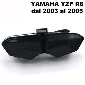 Faro-LED-fanale-posteriore-fume-stop-indicatori-direzionali-frecce-Yamaha-YZF-R6