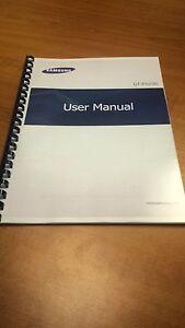 samsung galaxy tab 3 10 1 p5200 a5 printed instruction manual guide rh ebay com samsung galaxy tablet 10.1 user manual download Samsung Galaxy S Manual