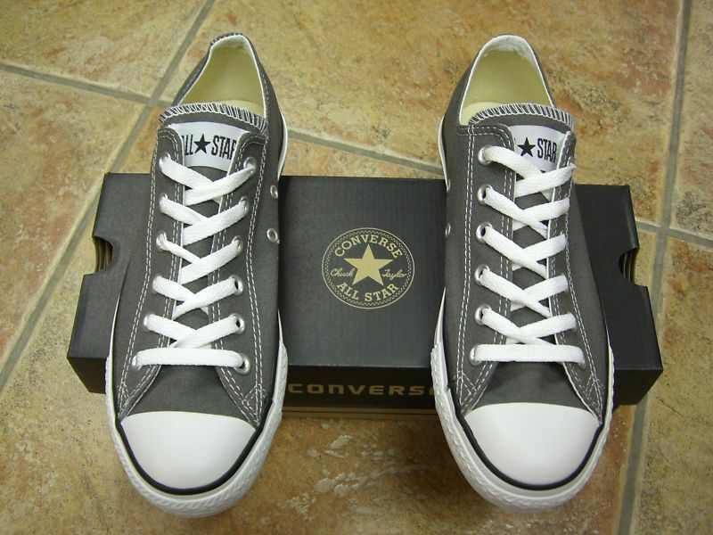 Converse Chucks All Star OX Gr.43  Charcoal  1J794 Neu