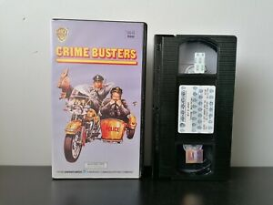 Crime-Busters-VHS-Dutch-Ex-Rental-Pre-Cert-PAL