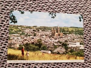 The-Cathedral-City-of-Truro-Cornwall-Vintage-Postcard