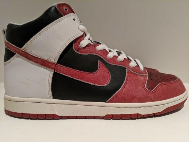 on sale 2efc2 88a7e 2007 Nike Dunk High Pro SB Jason Voorhees Black Deep Red Size 12 305050 062