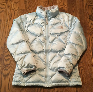 fd859da00 Details about The North Face Down Jacket Girls Large 550 Fill Aconcagua  Puffer