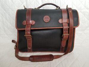 02c2993f7f Image is loading Timberland-Leather-Messenger-Bag-Crossbody-Briefcase -Shoulder-Brown-