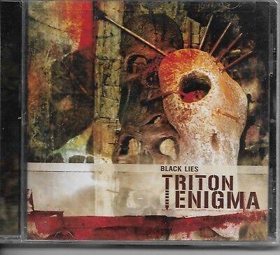 TRITON ENIGMA-BLACK LIES-CD-death-thrash-metal-decadence-arch enemy-izegrim