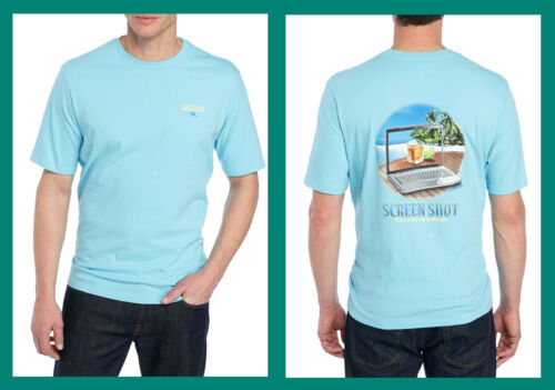 Tommy Bahama ~ Screen Shot Men/'s Graphic T-Shirt $50 NWT