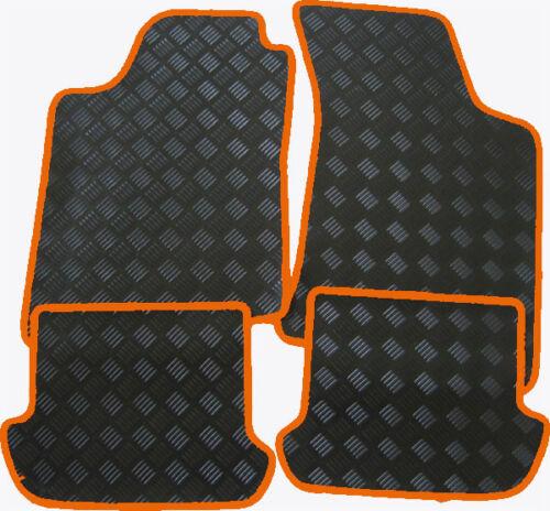 Passend für BMW X3 G01 Gummi-Fußmatten schwarz Rand verschiedene Farben