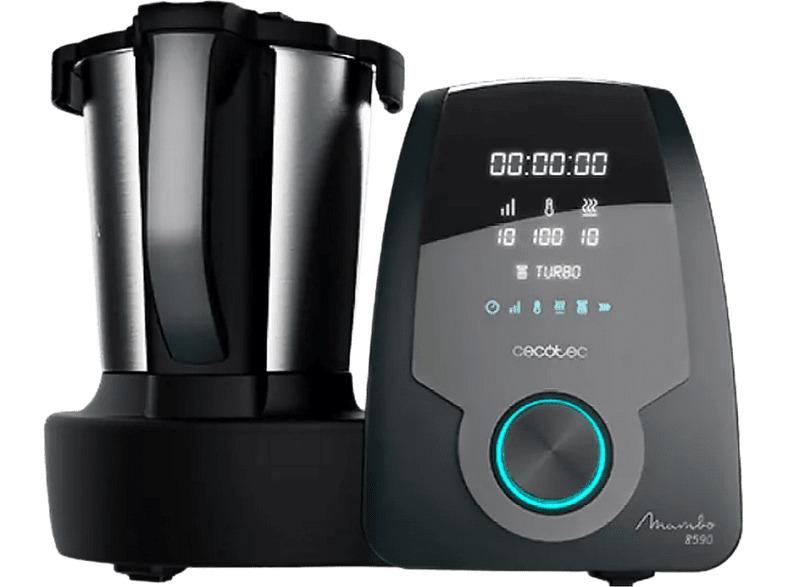 Robot de cocina - Cecotec Mambo 8590, Multifuncional, 1700 W, 3.3 l,...