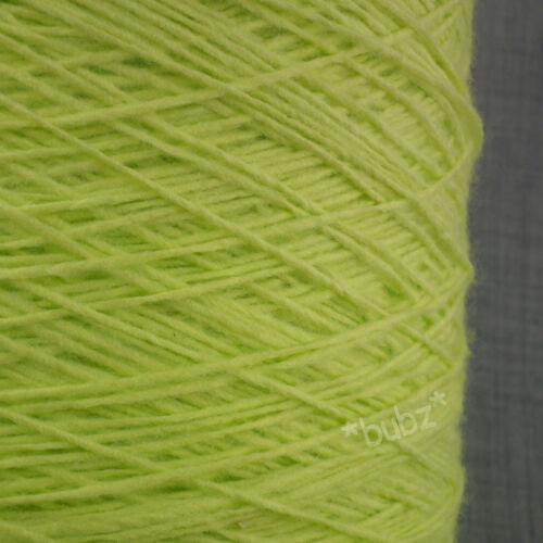 Super Suave 4 Capas Hilo 550g Cono 11 bolas verde lima amarilla Mano Máquina De Tejer