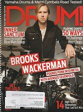 #250 DRUM music magazine BROOKS WACKERMAN - AVENGED SEVENFOLD