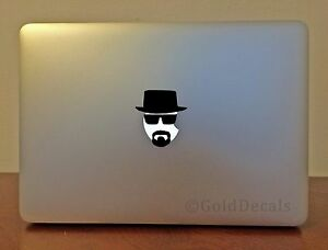 Heisenberg - MacApple Logo Laptop Vinyl Sticker Macbook ...