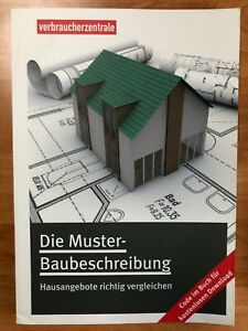 Die-Muster-Baubeschreibung-Herausgeber-Verbraucherzentrale-neuwertig