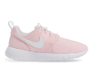 db73d03746c9 Nike Roshe One GS Big Kids Prism Pink White running casual shoes ...