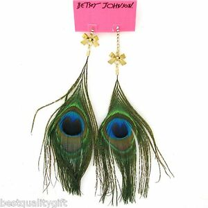 San Diego Peacock necklace and earrings
