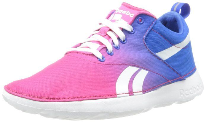 REEBOK CLASSIC ROYAL SIMPLE FASHION LOW Femme Chaussures Rose/Bleu M44345 Taille 10 NEW