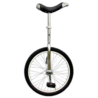 Fun Chrome 20 Unicycle W/ Alloy Rim Workout Exercise Sporting Cycling Hobby