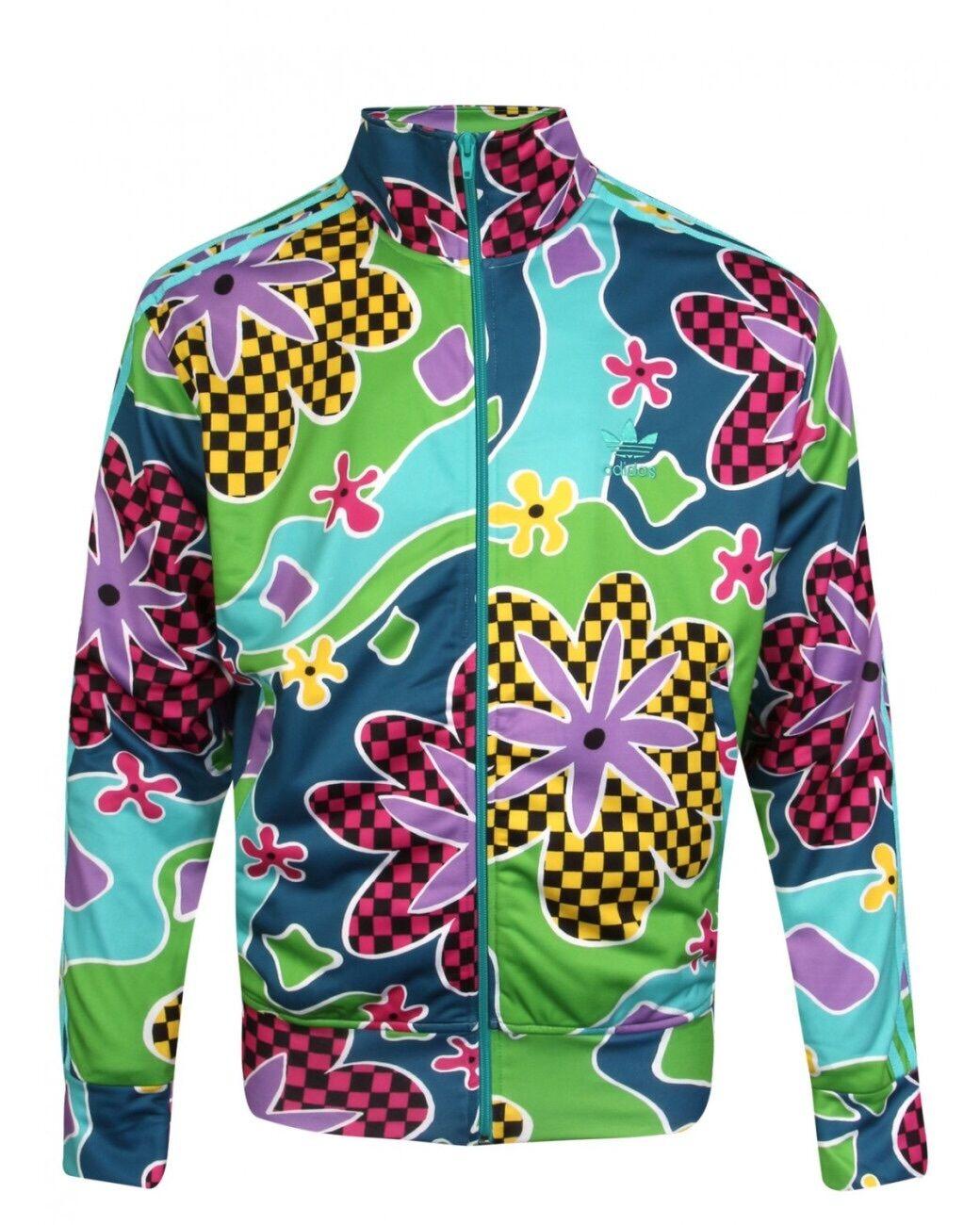 Adidas & Jeremy Scott Psychédélique Floral Survêtement Vif
