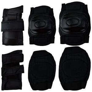 6-tlg-Schutzausruestung-Protektoren-Kinder-Schoner-Schuetzer-Inlineprotektoren
