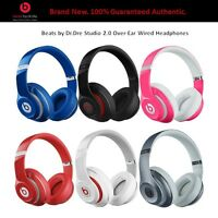 Sealed Genuine Beats By Dr.dre Studio 2.0 Over-ear Wired Headband Headphones