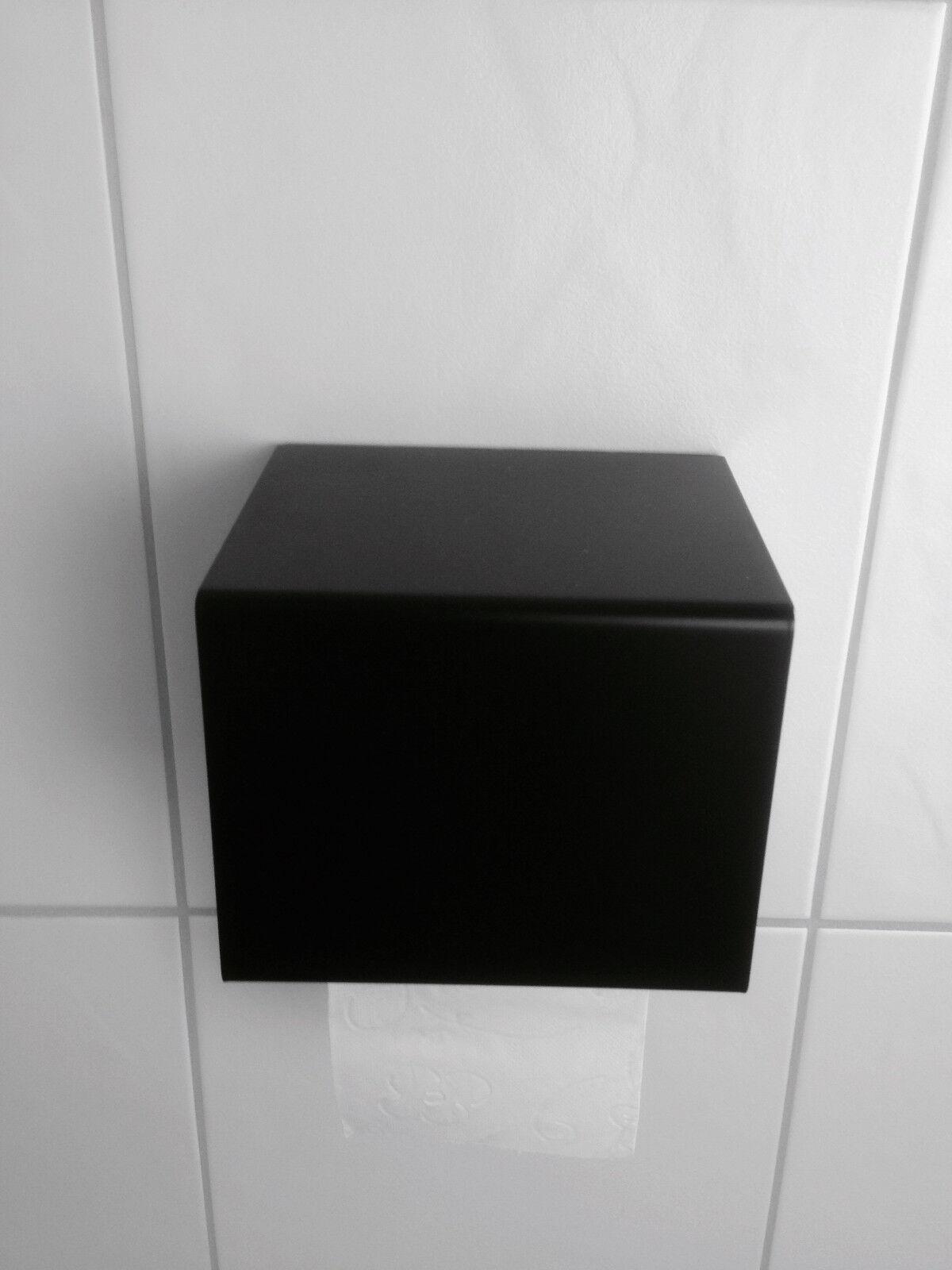 Klopapierhalter KlGoldllenhalter KlGoldllenhalter KlGoldllenhalter Designer Toilettenpapierhalter WC Bad schwarz 76194e