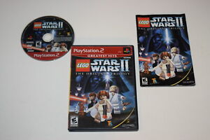 LEGO Star Wars II Original Trilogy G Hits Playstation 2 PS2 Video Game Complete