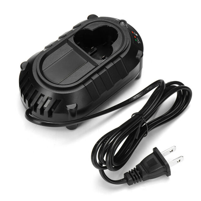 7.2-10.8V Li-ion Fast Battery Charger Power Adapter for Makita Tools BL013 Black