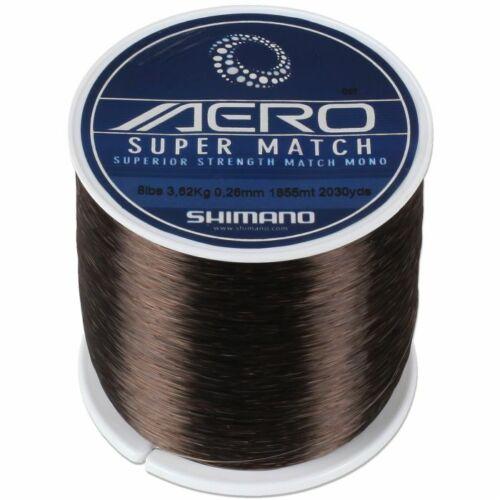 Shimano Aero Super Match Mono 10lb 1325m Spool *FREE POST*