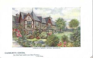 ADVERTISING :  Cadbury's Cocoa-Cadbury's General Offices,Bourneville