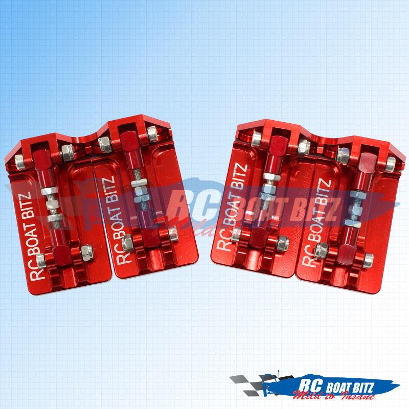 Traxxas Spartan dual trim tabs rosso   best-seller