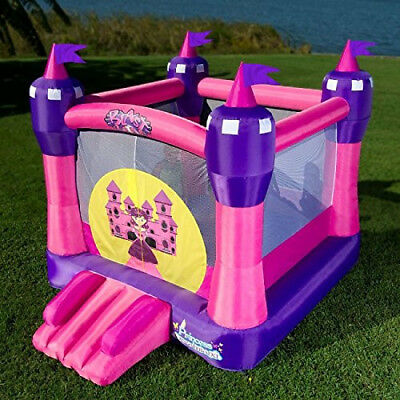 Bounce House Princess Kids Fun Party Outdoor Inflatable Castle Blower Backyard