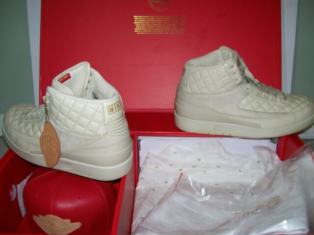 the best attitude cf4b0 d1056 SZ 12 Nike Air Jordan 2 II Retro Just Don C Beach 834825-250 IV XI XII V VI  IX X