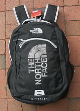 THE NORTH FACE HAYSTACK BACKPACK -# CHJ2- LAPTOP SLEEVE - TNF BLACK / M SILVER