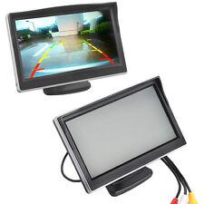 "5"" TFT LCD Car Monitor Screen HD Digital Car Rearview VCD/DVD/GPS Camera"