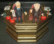 Palisades Muppets Statler & Waldorf Action Figures w/ Custom Theater Seating Box
