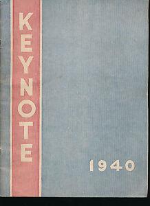 Sault Ste Marie MI Sault Ste Marie High School yearbook 1940 Michigan