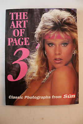 Very Rare Collectors Book: The Art of Page 3: Classic Photographs from 'The Sun'