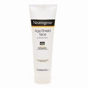 Neutrogena Age Shield Sunblock Lotion For Face, Spf 110 - 3 Oz, 2 Pack LOccitane Cedrat Global Face Gel 1.6 Ounce