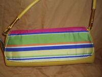 Moda Yellow Leather Fashionable Designer Handbag