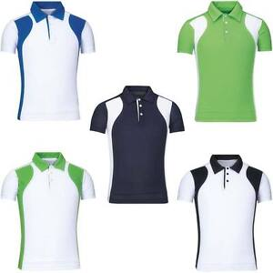 0cf2621aef Mens Coolon PK Sports Collar Button T-shirts Top Tee Dry Fit Tennis ...