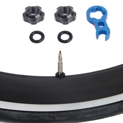 Road Mountain Bike Bicycle Gas Air Nozzle Tire Presta Valve Core Nut Scr  MN