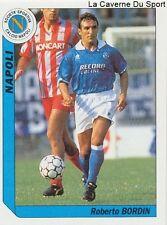 N°219 BORDIN # ITALIA SSC.NAPOLI HELLAS VERONA STICKER TUTTO CALCIO 1995 SL